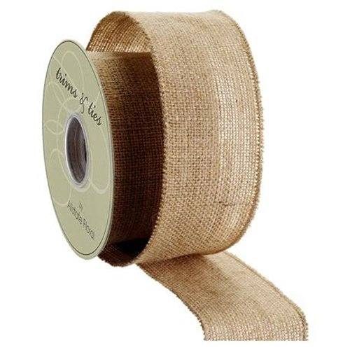 burlap ribbon by the roll