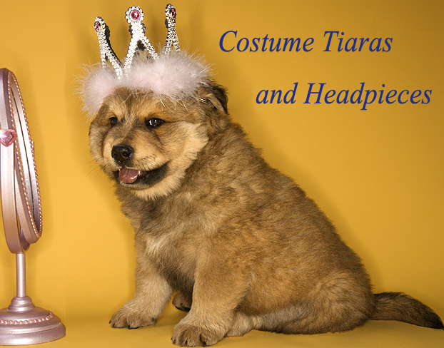Costume Tiaras and Headpieces