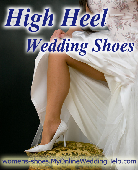 High heel shoes.