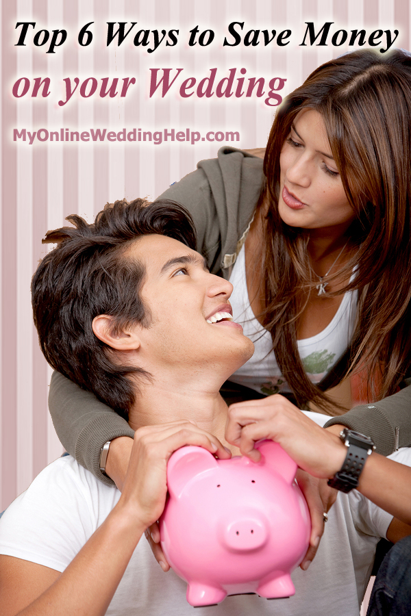 Top wedding ideas for saving money on your wedding | #MyOnlineWeddingHelp