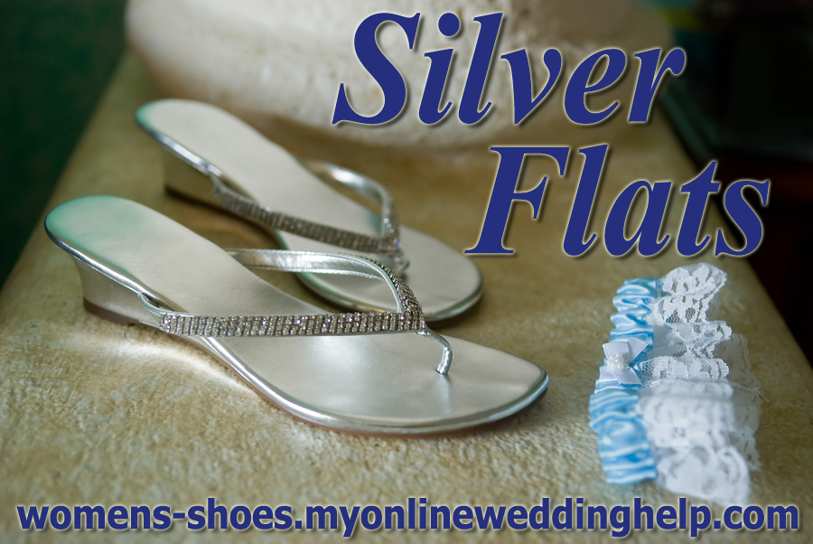 Silver flats.