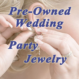 Used Wedding Party Jewelry