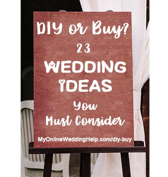 Buy or diy wedding planning ideas you must consider when hiring diy wedding planning ideas you must consider when hiring vendors or buying products 23 solutioingenieria Choice Image