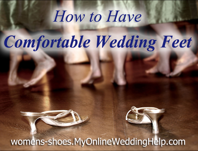 How to Have Comfortable Wedding Day Feet 1