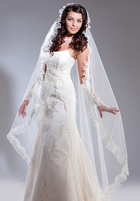 Long Floor Length Veil