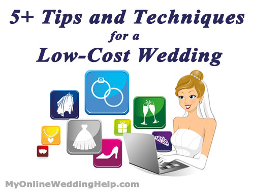 5+ Tips and Techniques for a Low Cost Wedding 1