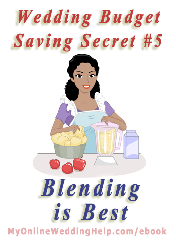 Excerpt from the Dream Wedding on a Dime; 7 Secrets for the Budget-Savvy Bride ebook at http://MyOnlineWeddinghelp.com/ebook