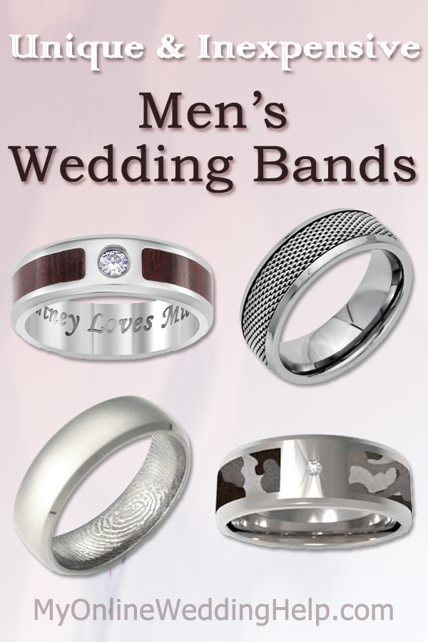 Unique Inexpensive Mens Wedding Bands My Online Wedding Help