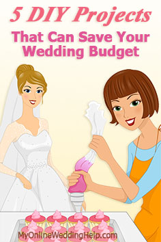 Wedding DIY Ideas: Ways to save money and stay within your wedding budget. DIY projects...bouquets, photo albums, favors, invitations, and other wedding paper.