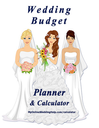 Free Wedding Budget Calculator. Break your budget down into line items with this free wedding budget planner. Customize it to your needs and use for planning your wedding. #weddingplanning #weddingbudget #weddingplanner #wedding #budgetwedding #budgeting #budgettips #budgetplanner #budgetcalculator #weddingbudgetcalculator