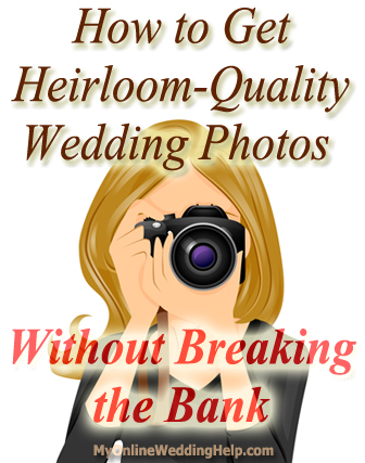 Wedding photography tips: how to get good-quality on a budget without overspending. | #MyOnlineWeddingHelp