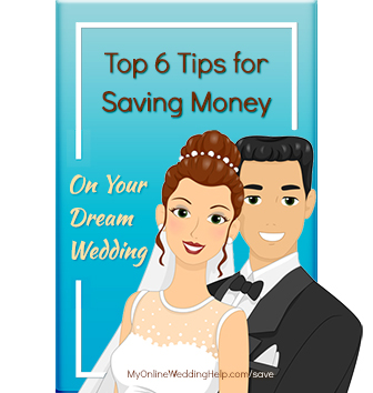 Wedding saving tips and ideas for staying within your wedding budget. Six ways to stretch those wedding dollars.